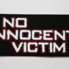 No Innocent Victim - Logo (Sticker)
