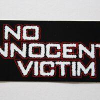 No Innocent Victim – Logo (Sticker)