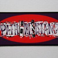 Path Of Resistance – Logo (Sticker)
