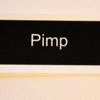 Pimp (Sticker)