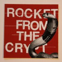 Rocket From The Crypt – Cobra (Sticker)