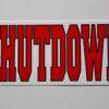 Shutdown - Logo (Sticker)
