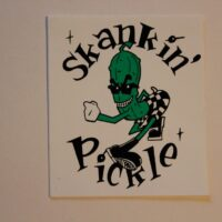 Skankin Pickle – Cartoon/Logo (Sticker)