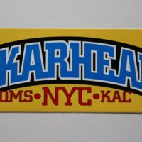 Skarhead – NYC (Sticker)