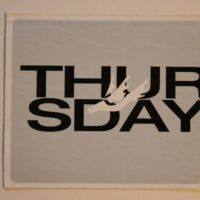 Thursday – Dove/Logo (Sticker)