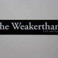 Weakerthans, The – Left And Leaving (Sticker)