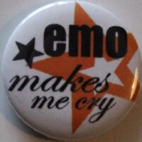Emo – Makes Me Cry (Badges)