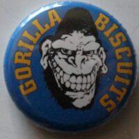 MGorilla Biscuits – Gorilla/Logo (Badges)