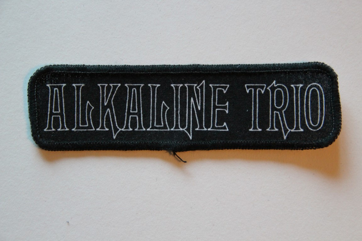 Alkaline Trio - Logo (Printed Patch)