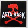 Asta Kask - Red Skull (Sticker)