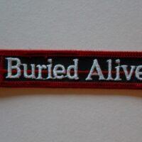 Buried Alive – Logo (Broderad Patch)