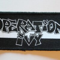 Operation Ivy – Logo (Printed Patch)