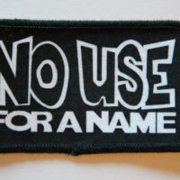 No Use For A Name – Logo (Printed Patch)