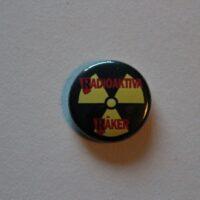 Radioaktiva Räker – Atom/Logo (Badges)