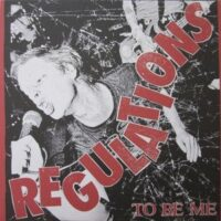 Regulations – To Be Me (CD)