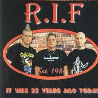 R.I.F ‎– It Was 25 Years Ago Today (CD)