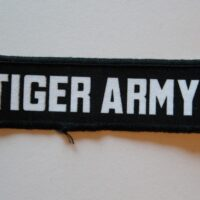 Tiger Army – Logo (Printed Patch)