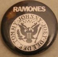 Ramones – President/Logo (Badges)