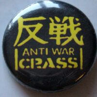 Crass – Anti War (Badges)