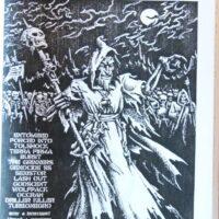 Doomsday Mag Nr. 3-1998 (Entombed,Turbonegro,Driller Killer,Wolfpack mfl)