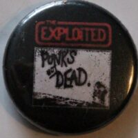 Exploited, The – Punx Not Dead (Badges)