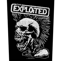 Exploited, The – Vintage Skull (Sew On Back Patch)