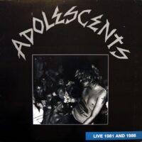 Adolescents – Live 1981 And 1986 (Colour Vinyl LP)