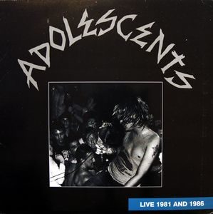 Adolescents ‎– Live 1981 And 1986 (Colour Vinyl LP)