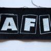 AFI - Logo (Cloth Patch)