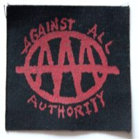 Against All Authority – AAA (Cloth Patch)