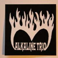 Alkaline Trio – Burning Heart (Sticker)