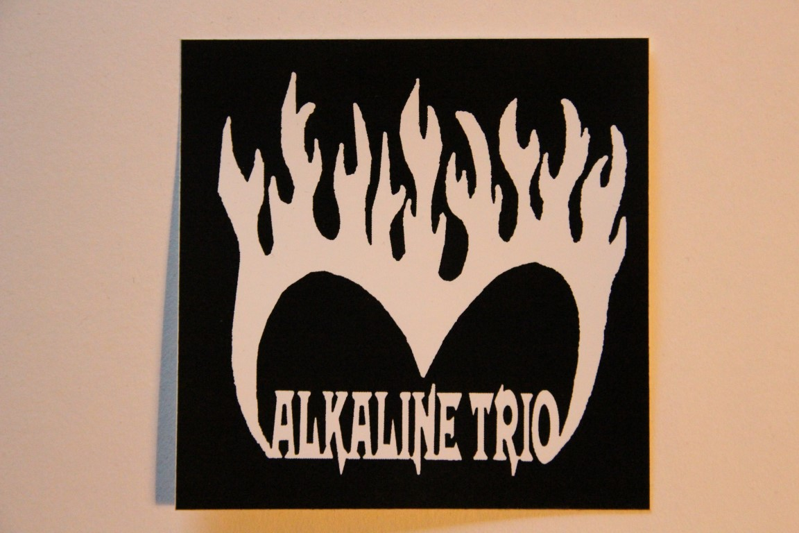 Alkaline Trio - Burning Heart (Sticker)