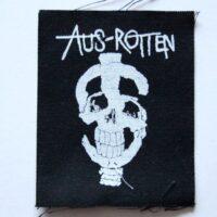 Aus-Rotten – Skull/Symbol (Sticker)