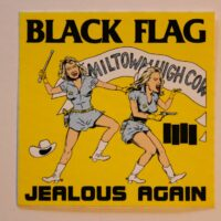 Black Flag – Jealous Again (Sticker)