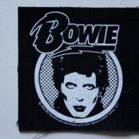 David Bowie – Face (Cloth Patch)