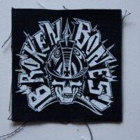 Broken Bones – Skull/Logo (Cloth Patch)