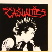 Casualties, The – Live Singer (Sticker)