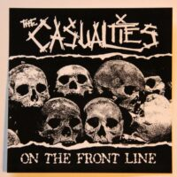 Casualties, The – On The Front Line (Sticker)