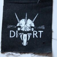 Dirt – Skull (Cloth Patch)