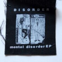 Disorder – Mental Disorder (Cloth Patch)