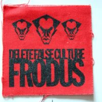 Frodus – Logo/Faces (Cloth Patch)