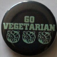 Go Vegetarian (Badges)