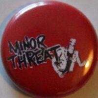 Minor Threat – Bottleneck (Badges)