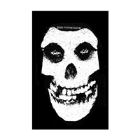 Misfits – White Skull (Sew-On Patch)