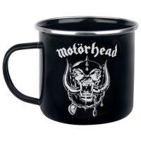 Motörhead – Skull/Logo (Emalj/Enamel Mugg)