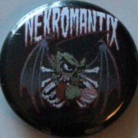 Nekromantix – Bat/Logo (Badges)