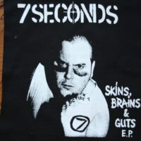7 Seconds – Cover (Back/Ryggpatch)