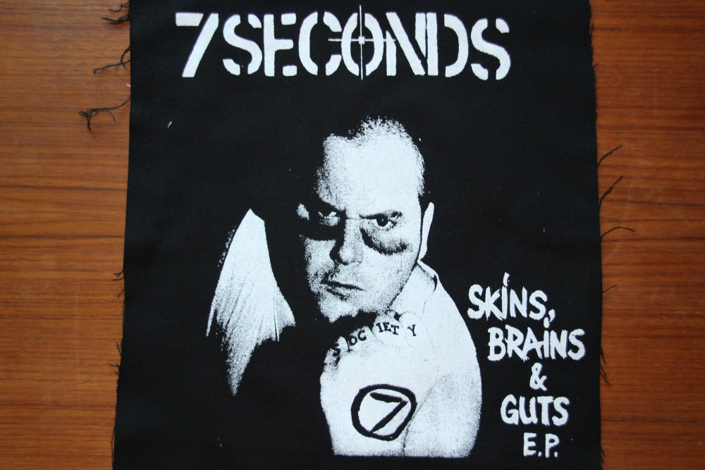 7 Seconds - Cover (Back/Ryggpatch)