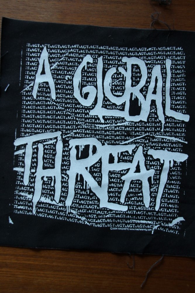 A Global Threat - Logo (Back Patch)