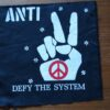 Defy The System (Back Patch)
